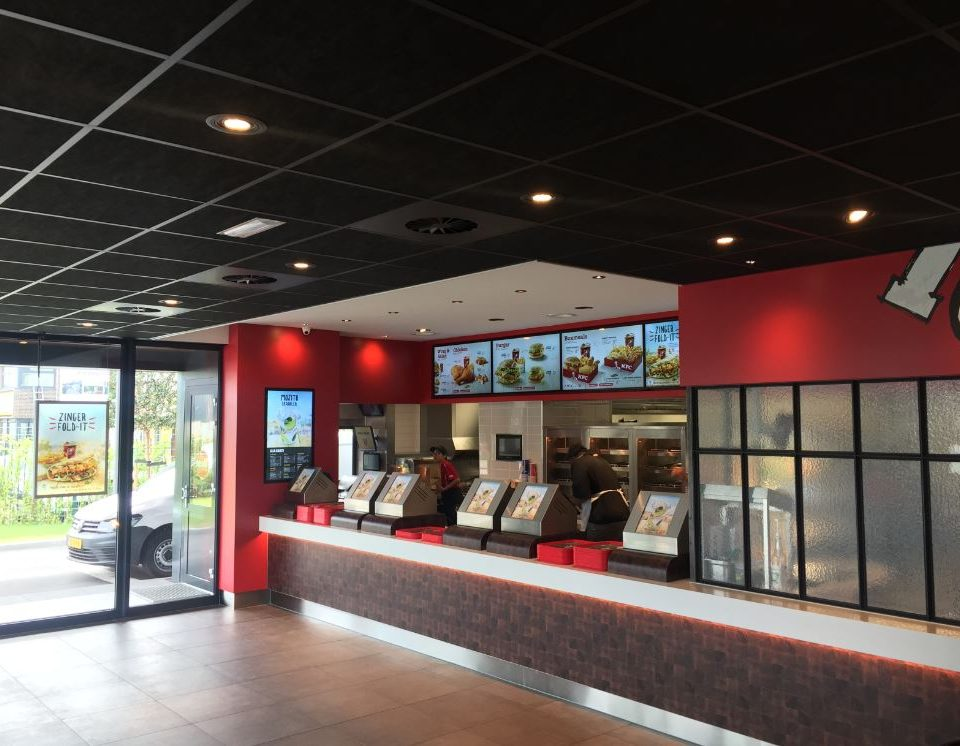Kentucky Fried Chicken afzuiginstallatie