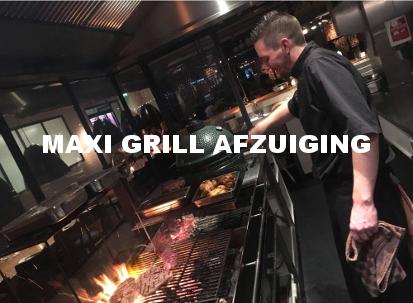 Maxi grill afzuiging