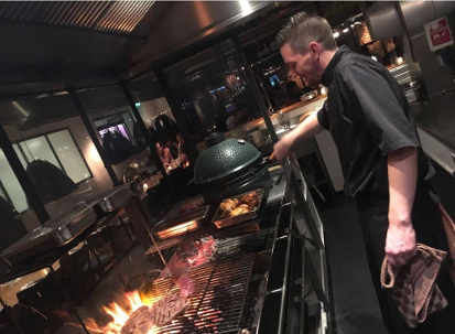 Maxi grill rookafzuiging