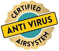 certified antivirus airsysteem